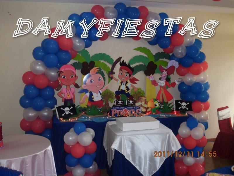 : Fiesta de Jake y los Piratas del Nunca Jamas 11 de Diciembre 2011